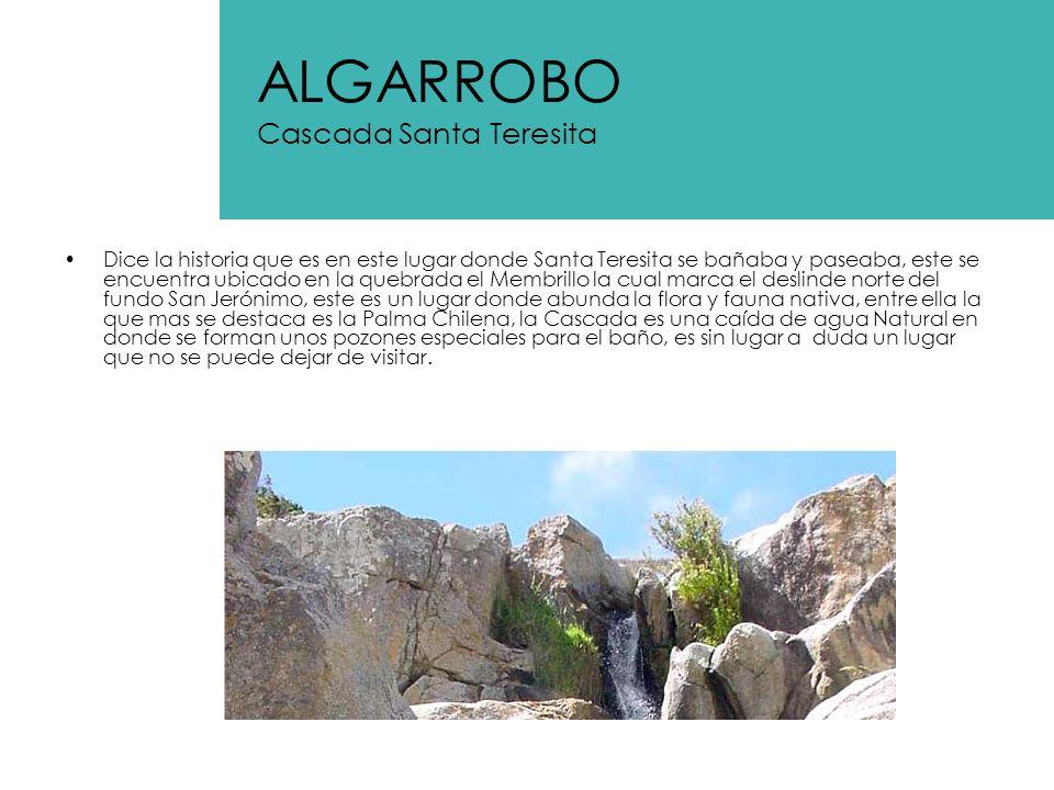 ALGARROBO Cascada Santa Teresita