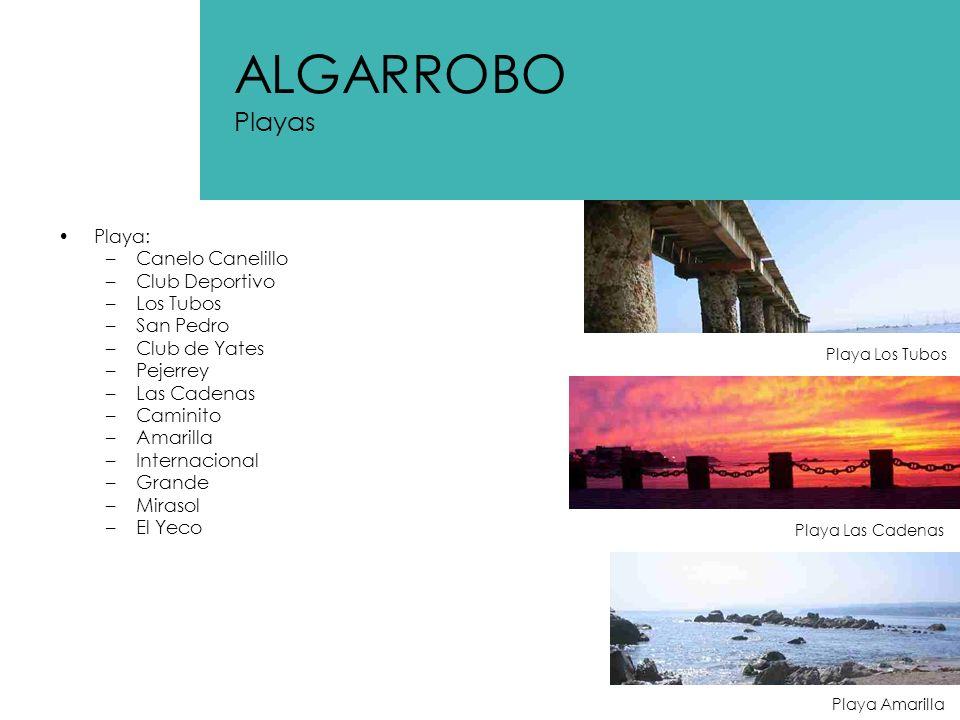 ALGARROBO Playas Playa: Canelo Canelillo Club Deportivo Los Tubos