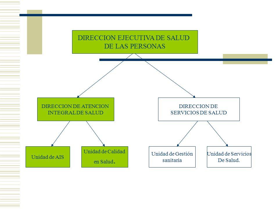 DIRECCION EJECUTIVA DE SALUD