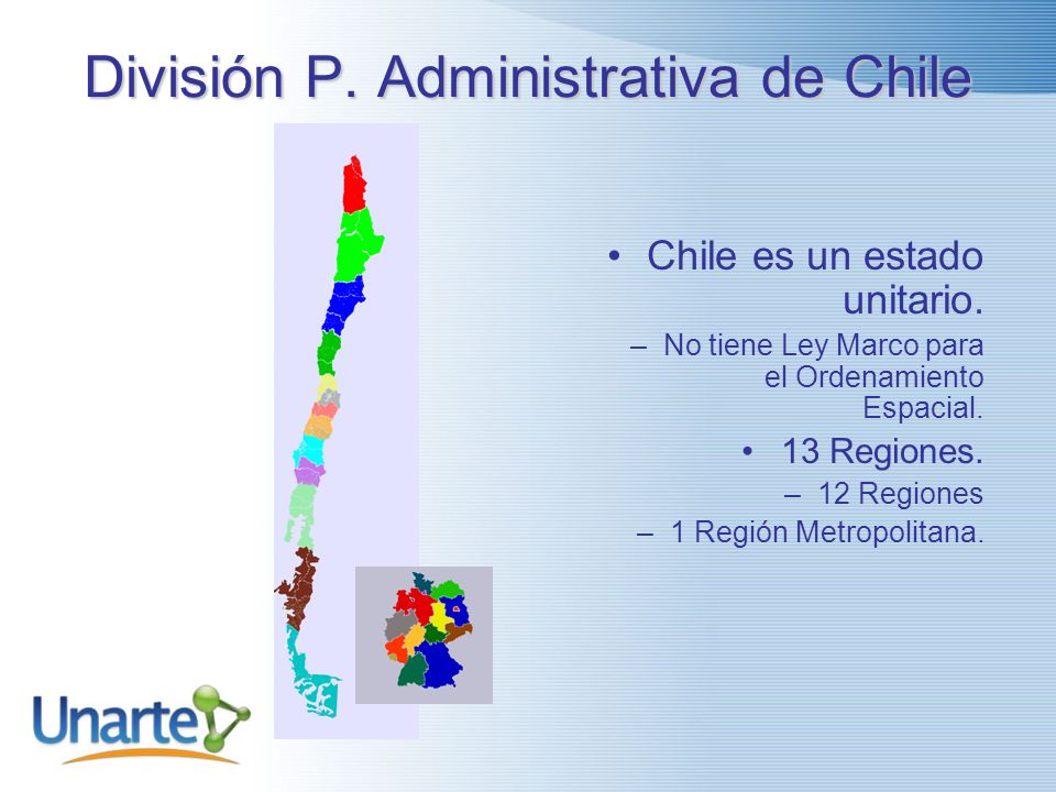 División P. Administrativa de Chile