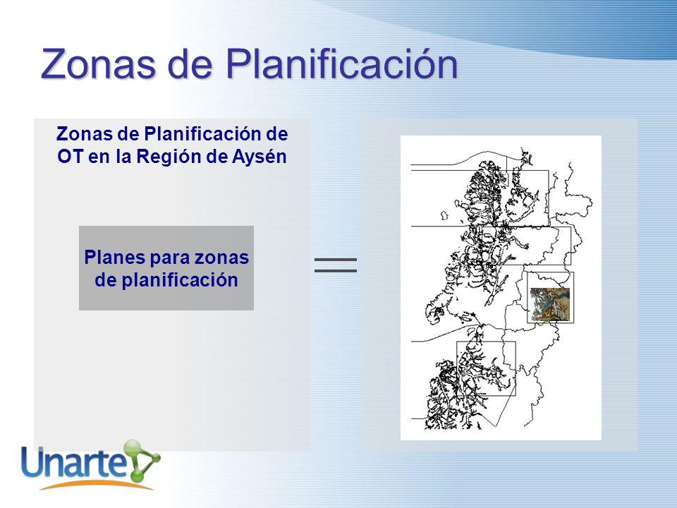 Zonas de Planificación