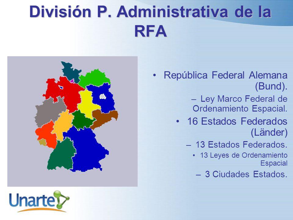 División P. Administrativa de la RFA