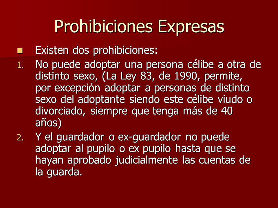Prohibiciones Expresas