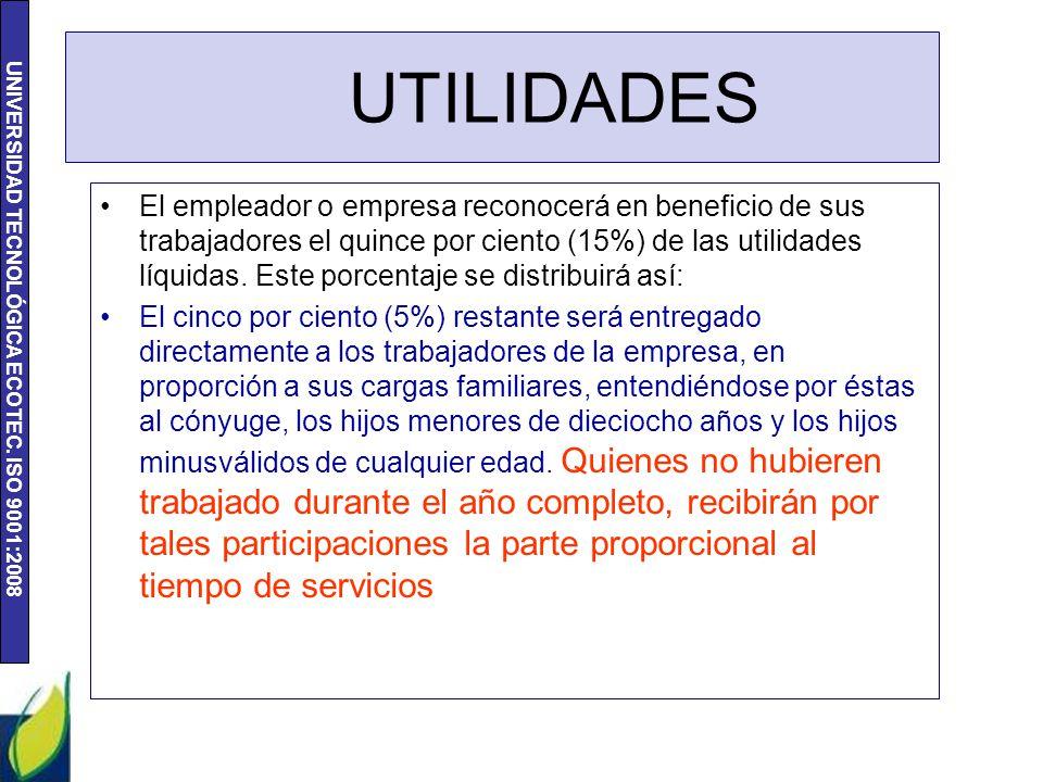 UTILIDADES