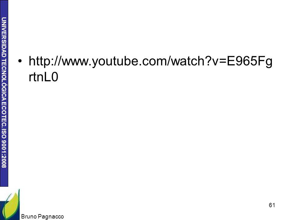 http://www.youtube.com/watch v=E965FgrtnL0 Bruno Pagnacco
