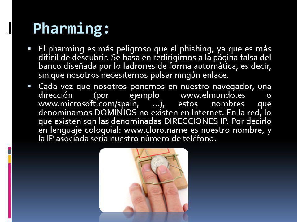 Pharming: