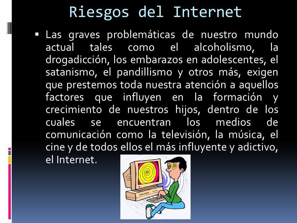 Riesgos del Internet
