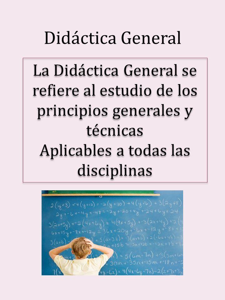 Aplicables a todas las disciplinas
