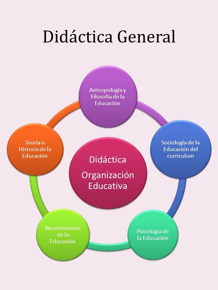 Didáctica General Organización Educativa Didáctica