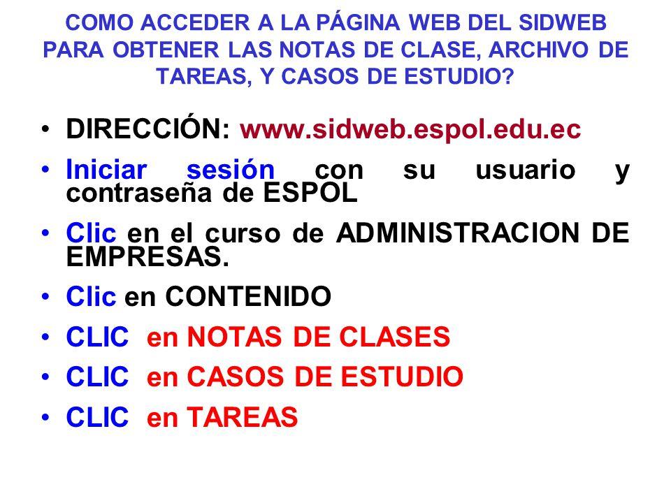 DIRECCIÓN: www.sidweb.espol.edu.ec