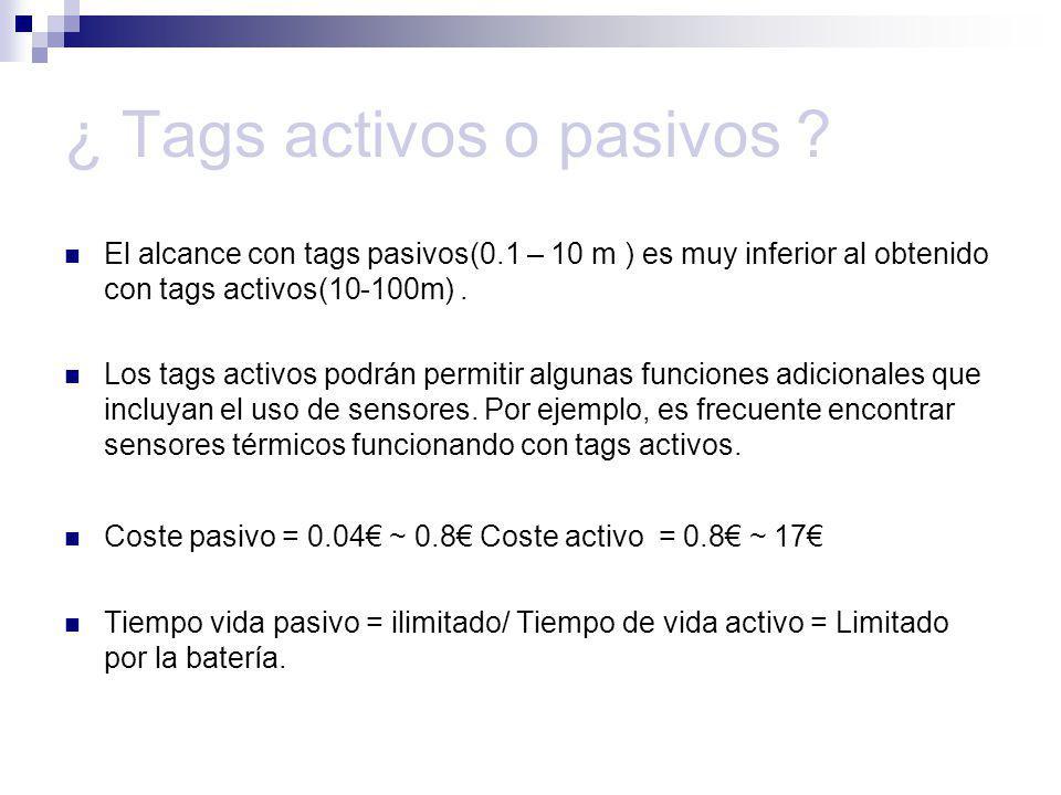¿ Tags activos o pasivos