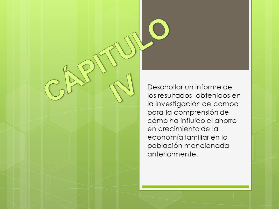 CÁPITULO IV