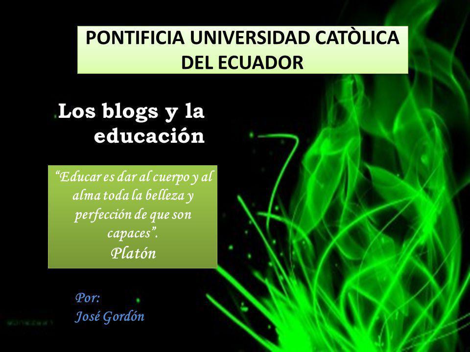 PONTIFICIA UNIVERSIDAD CATÒLICA DEL ECUADOR