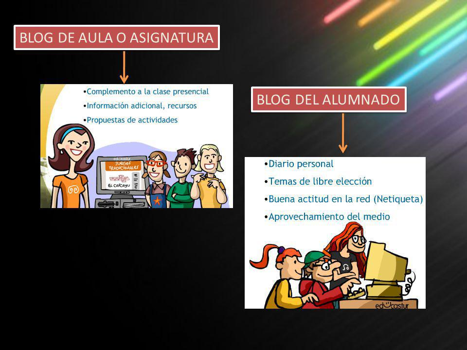 BLOG DE AULA O ASIGNATURA
