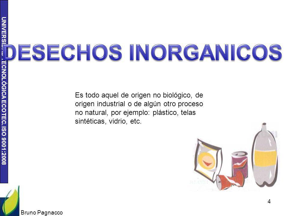 DESECHOS INORGANICOS