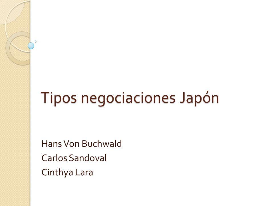 Tipos negociaciones Japón