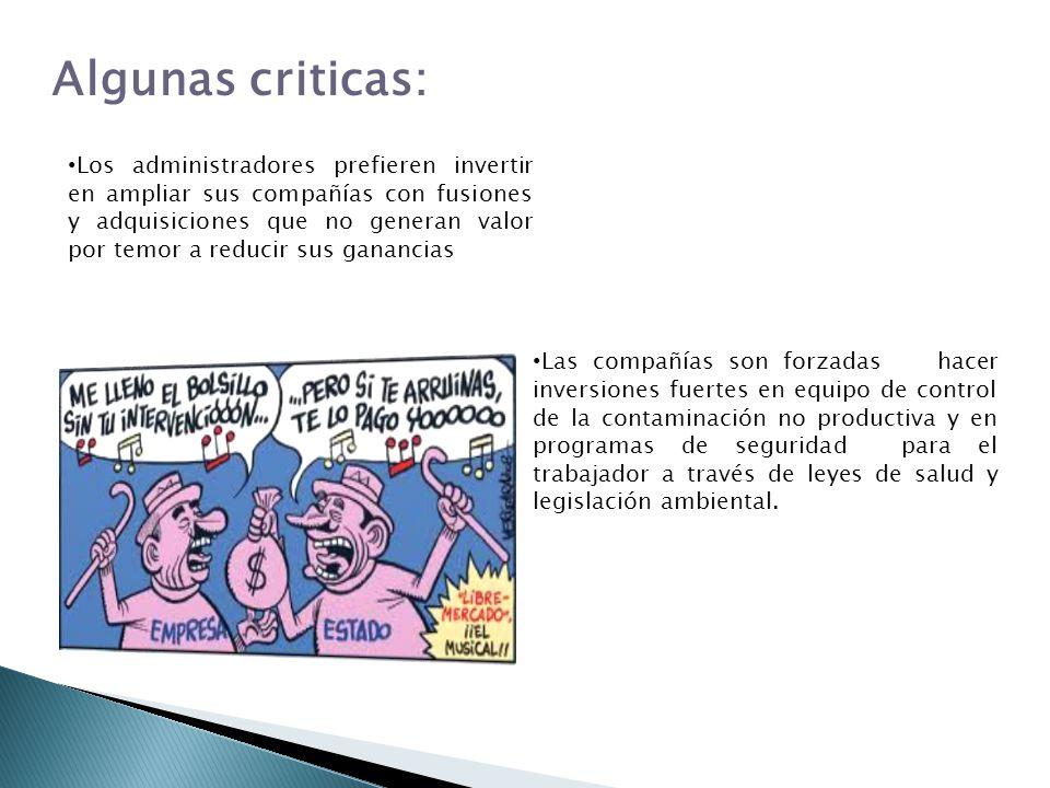 Algunas criticas: