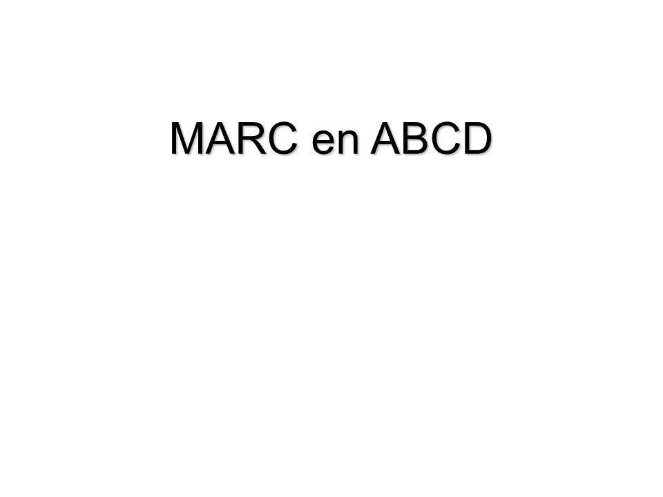 MARC en ABCD