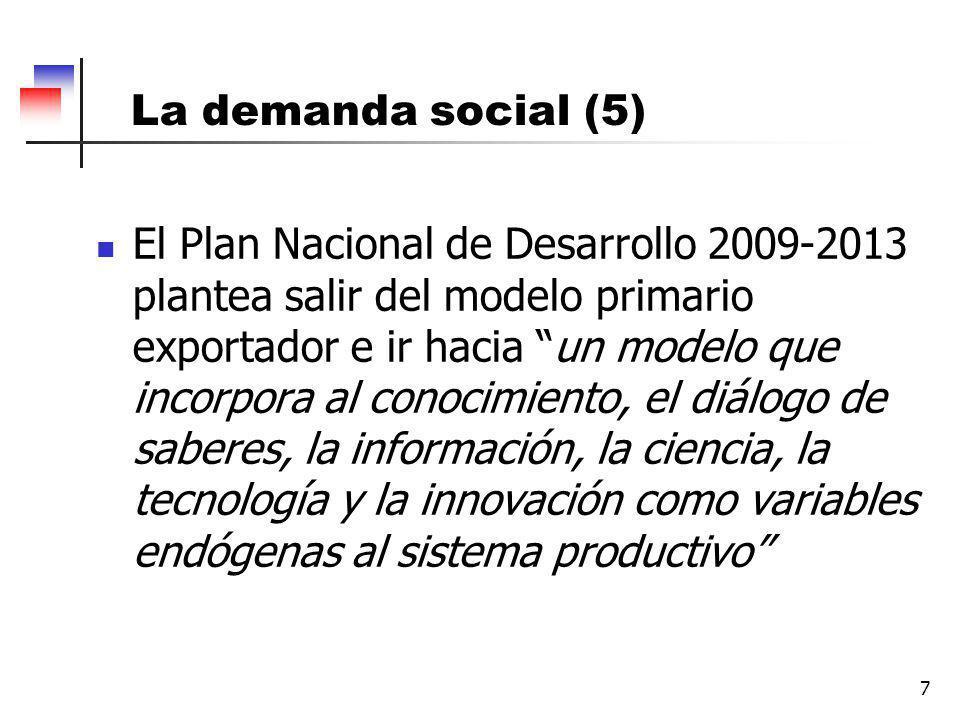 La demanda social (5)