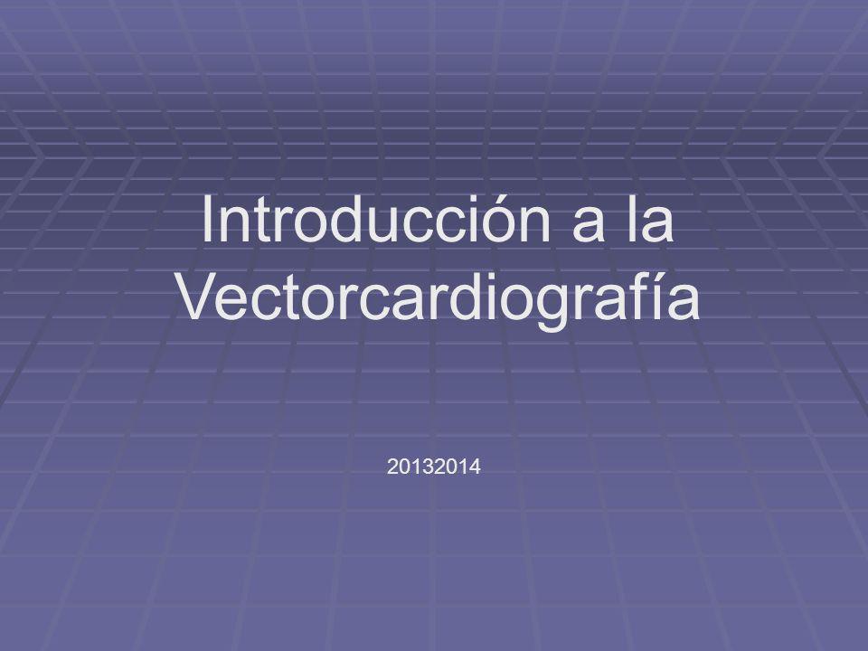 Introducción a la Vectorcardiografía