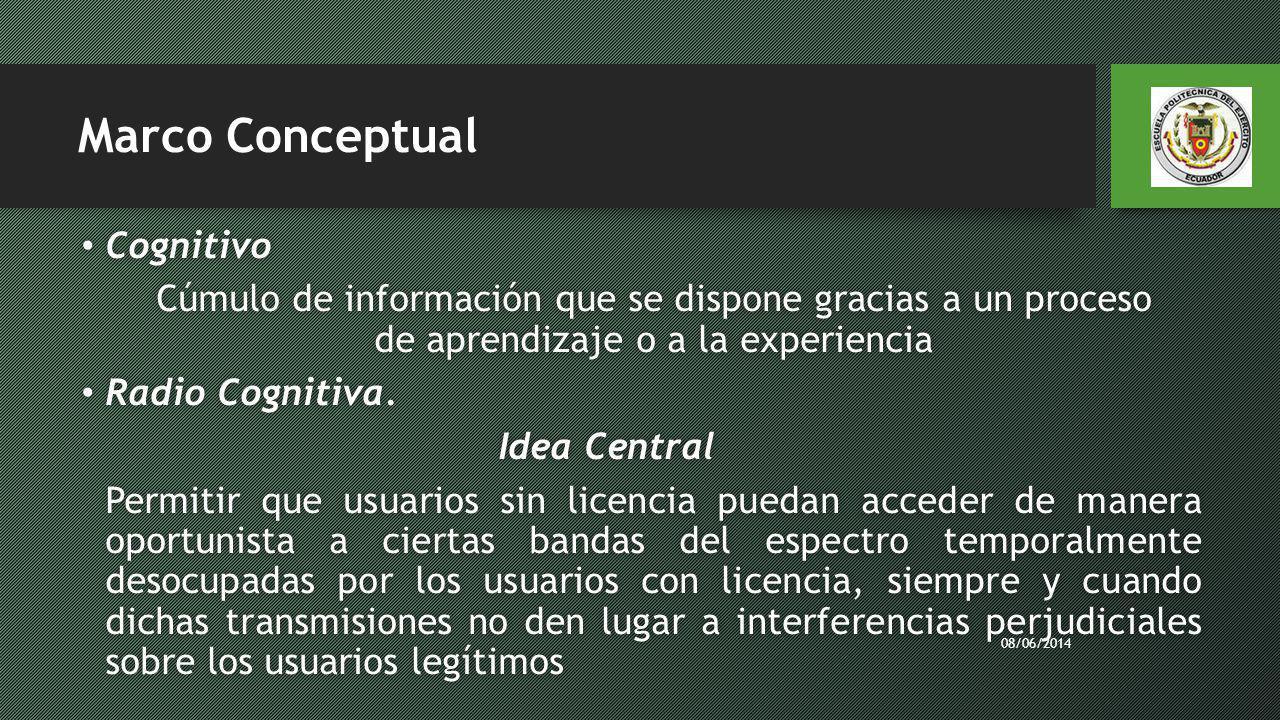 Marco Conceptual Cognitivo