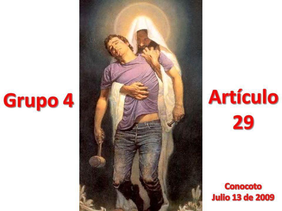 Artículo 29 Grupo 4 Conocoto Julio 13 de 2009