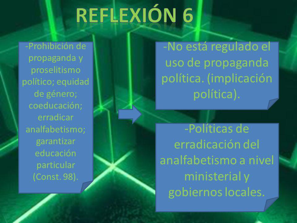 Reflexión 6