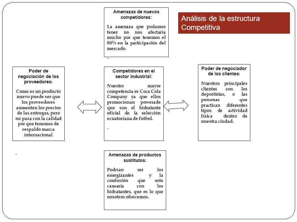 Análisis de la estructura Competitiva