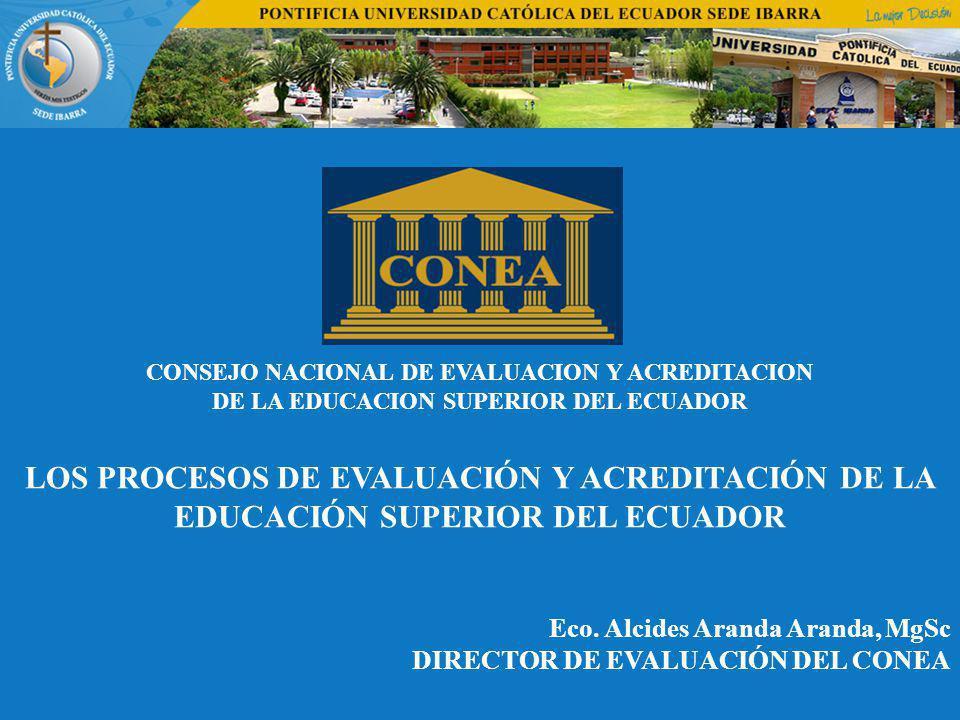 CONSEJO NACIONAL DE EVALUACION Y ACREDITACION