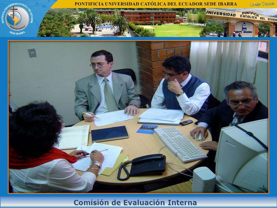 Comisión de Evaluación Interna