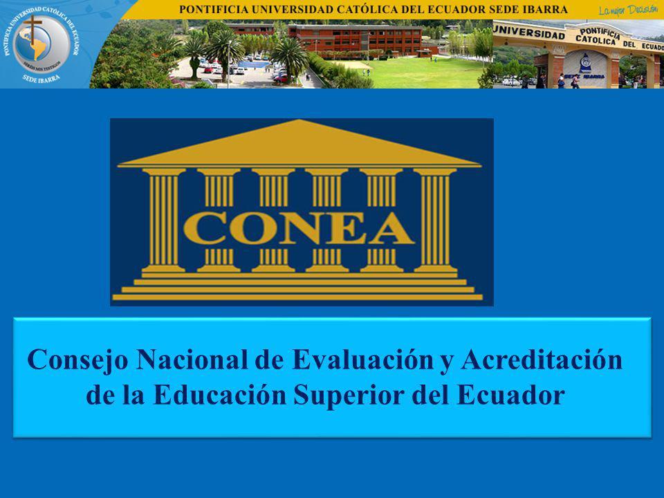 Consejo Nacional de Evaluación y Acreditación