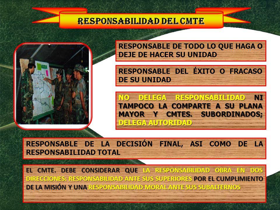 RESPONSABILIDAD DEL CMTE