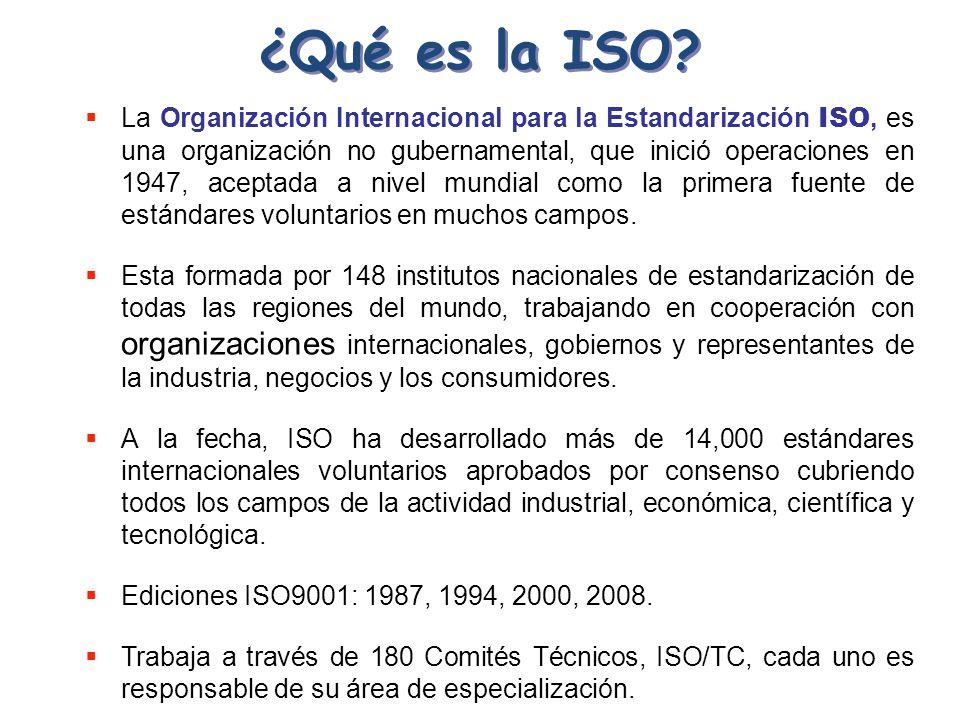 ¿Qué es la ISO