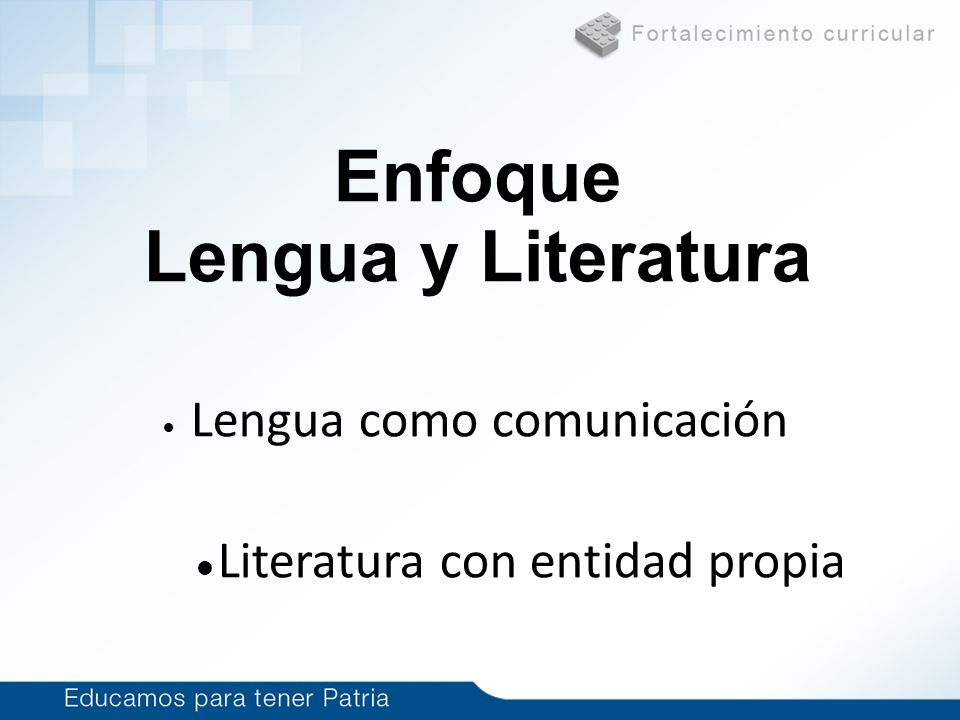Enfoque Lengua y Literatura