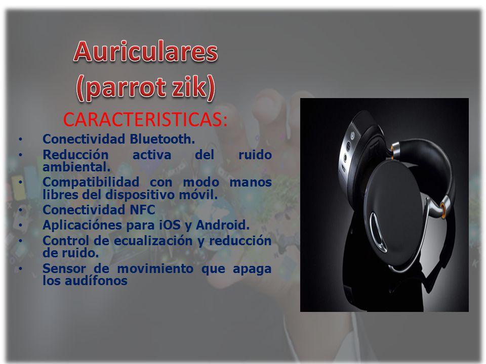 Auriculares (parrot zik)