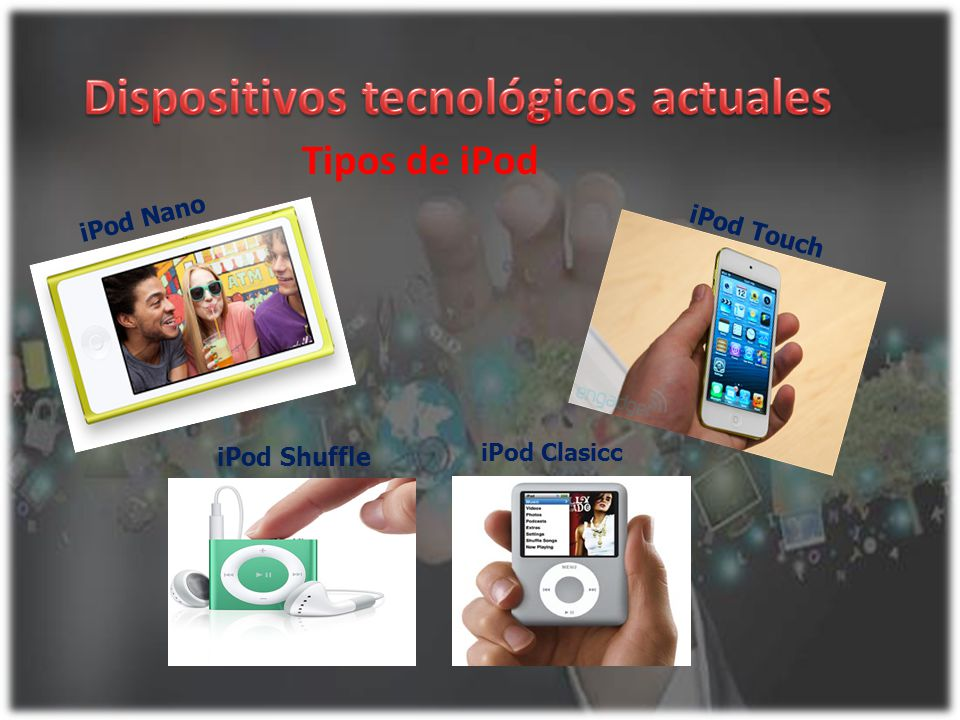 Dispositivos tecnológicos actuales