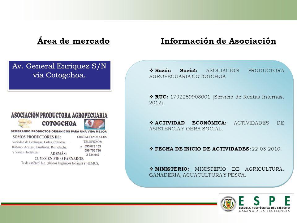 Información de Asociación
