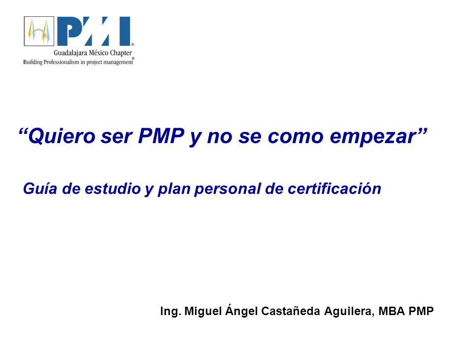 Ing. Miguel Ángel Castañeda Aguilera, MBA PMP