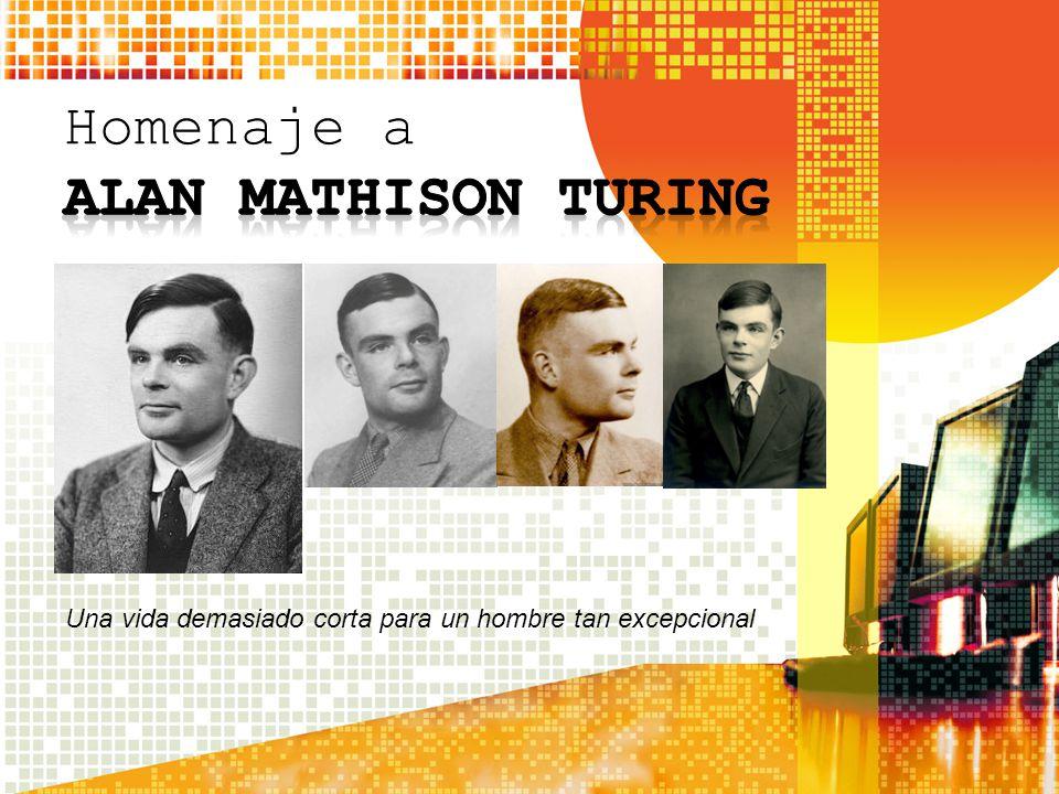 Homenaje a ALAN MATHISON TURING