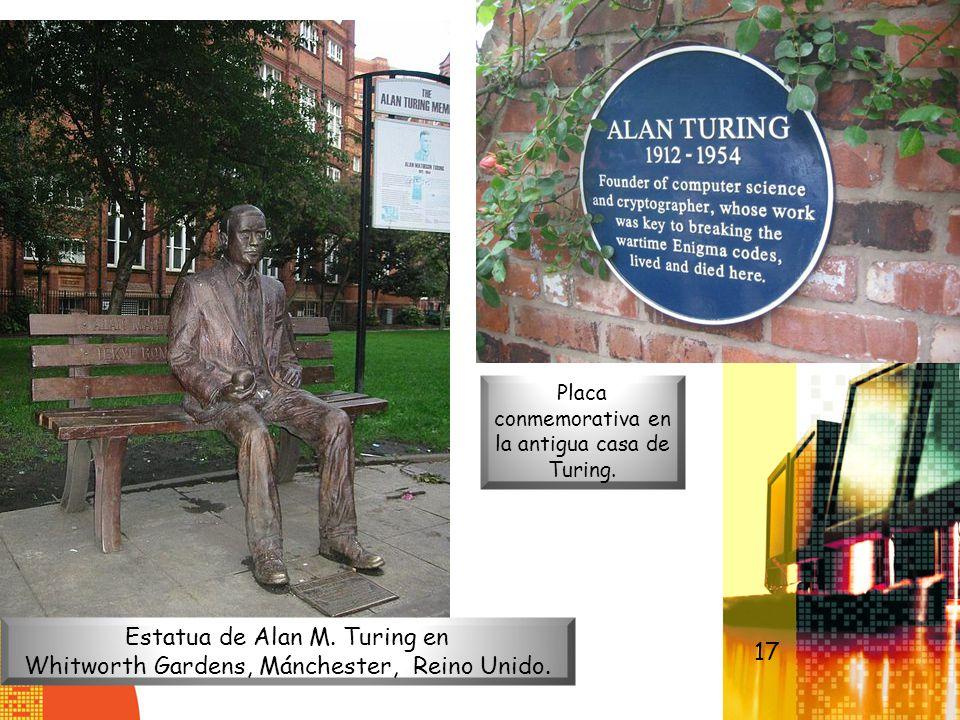 Estatua de Alan M. Turing en