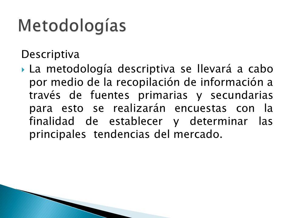 Metodologías Descriptiva
