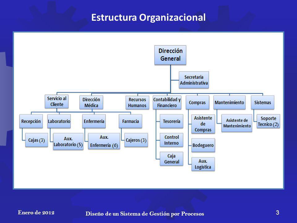Estructura Organizacional Diseño de un Sistema de Gestión por Procesos