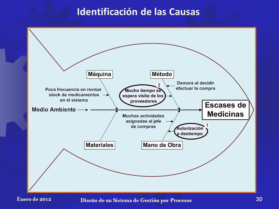 Identificación de las Causas