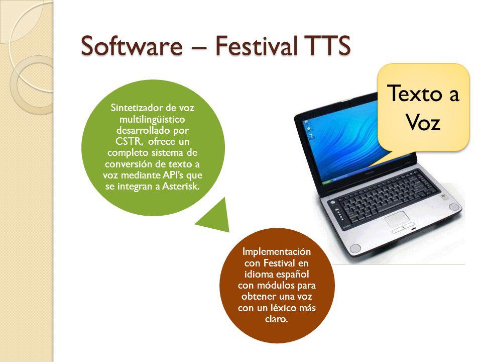 Software – Festival TTS