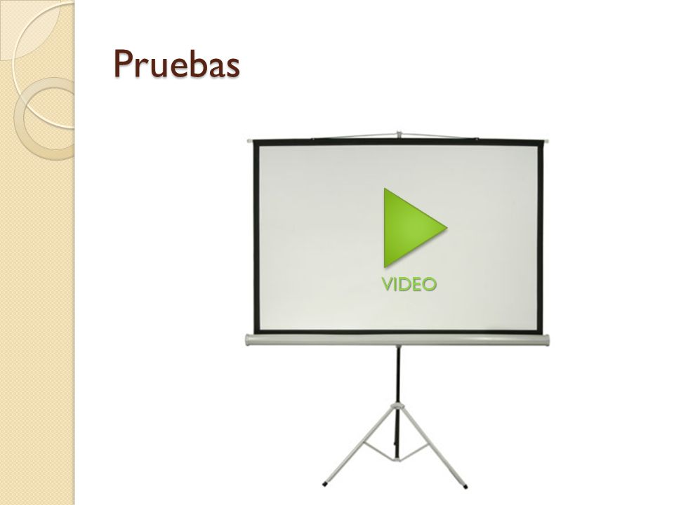 Pruebas VIDEO
