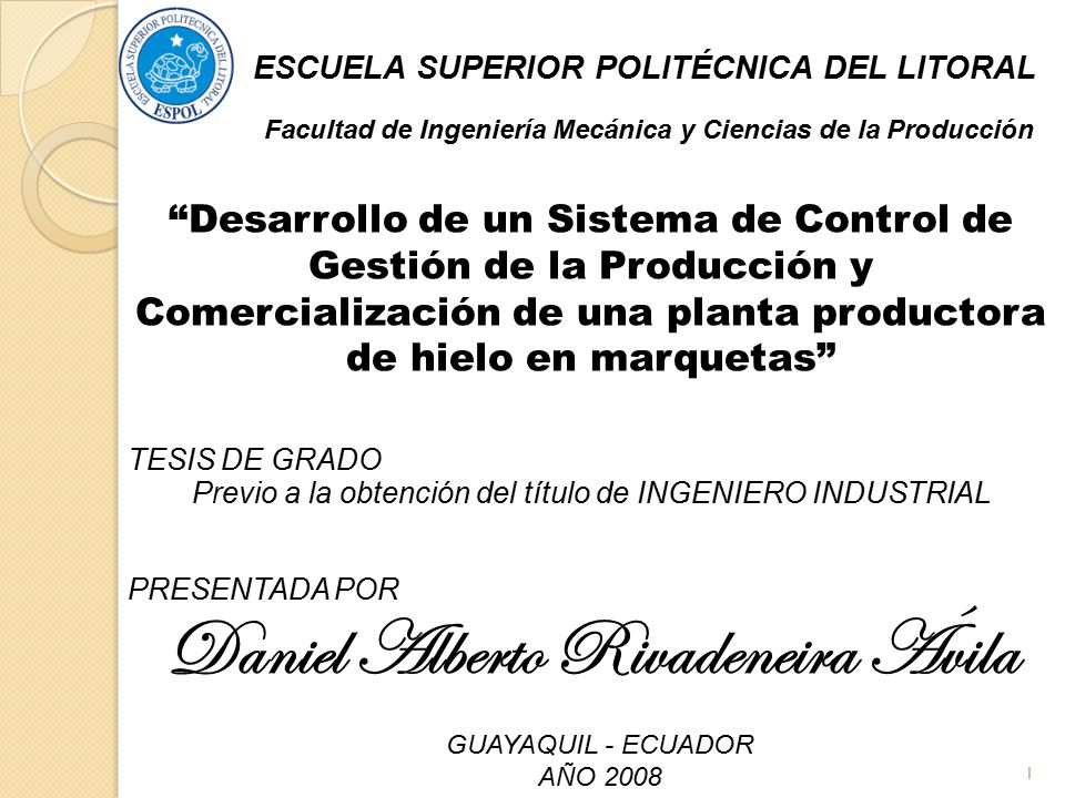 Daniel Alberto Rivadeneira Ávila