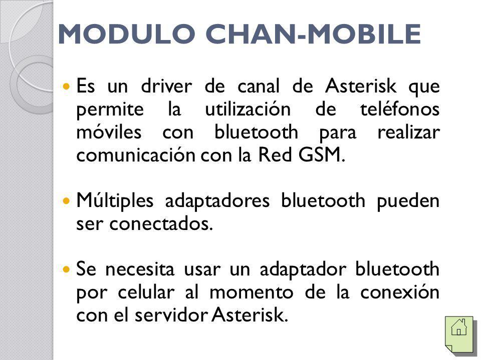 MODULO CHAN-MOBILE