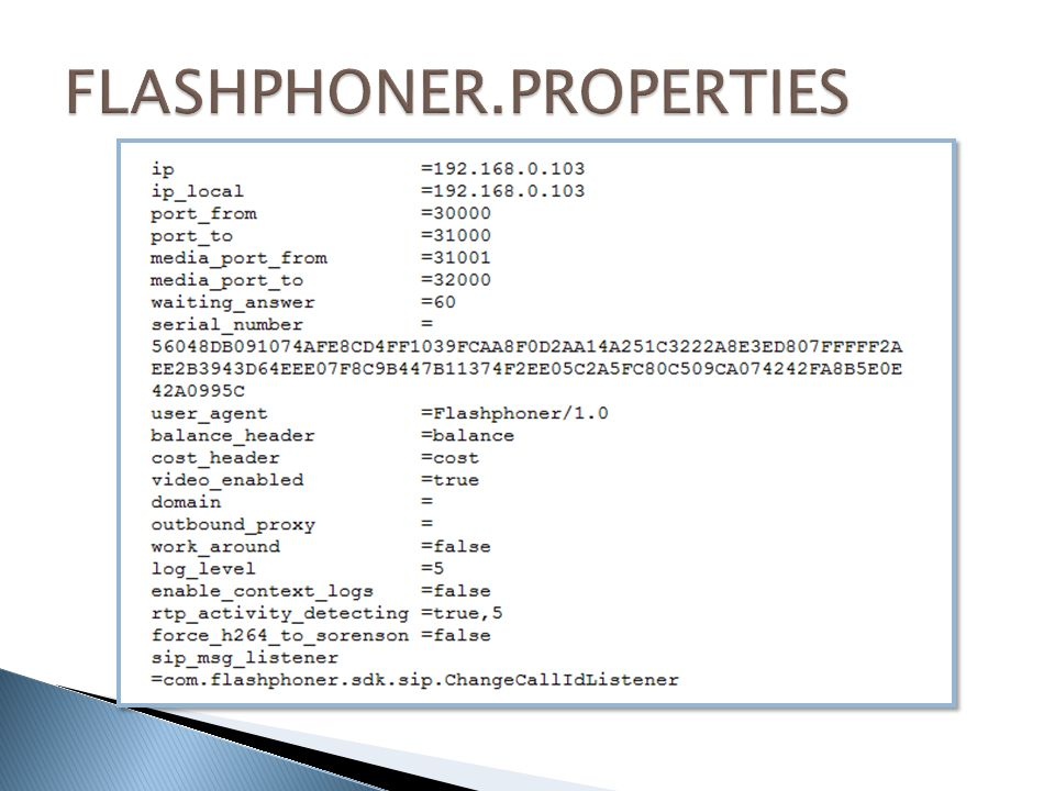 FLASHPHONER.PROPERTIES
