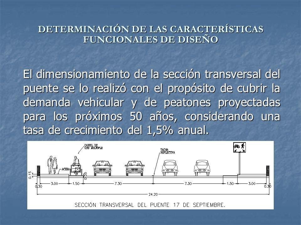 DETERMINACIÓN DE LAS CARACTERÍSTICAS FUNCIONALES DE DISEÑO