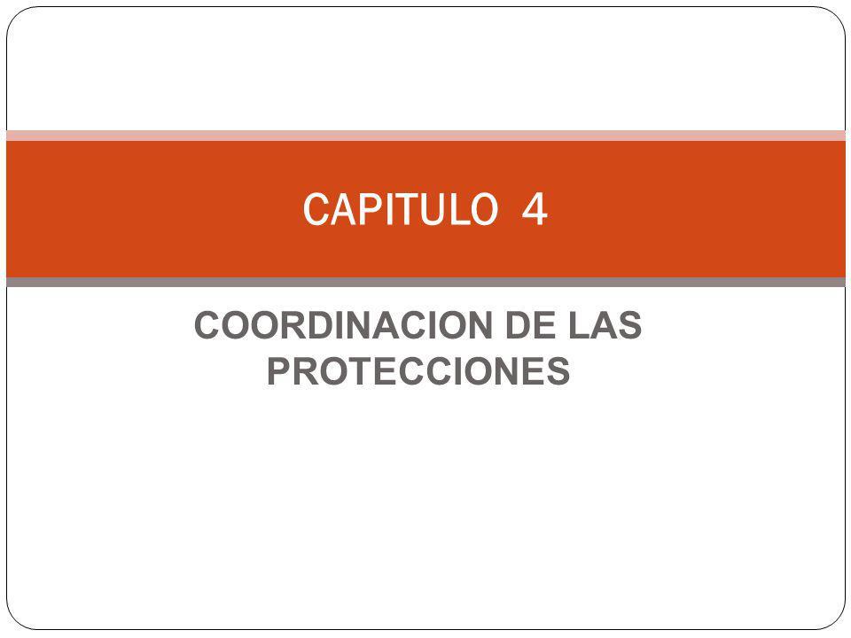 COORDINACION DE LAS PROTECCIONES